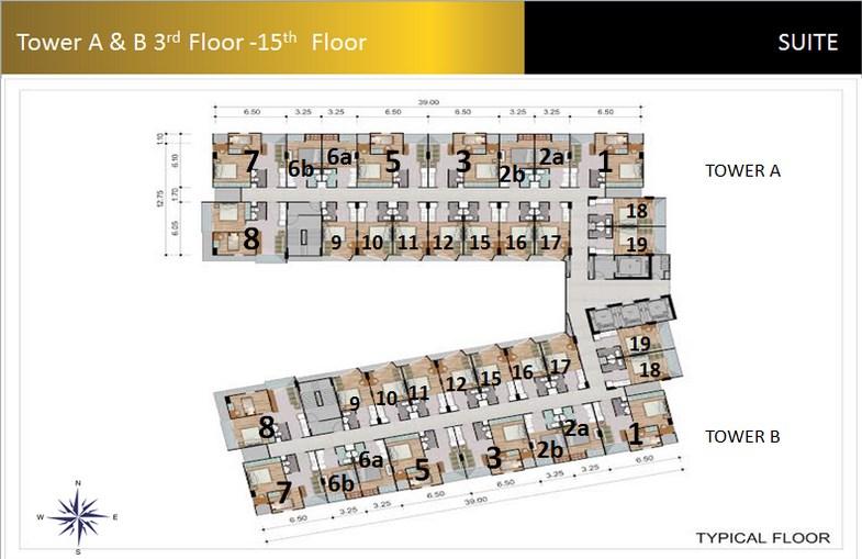 Floor Plan Padina