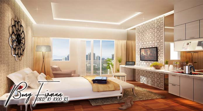 3. Type Studio Puri Orchard Apartemen Dengan Desain Clasic